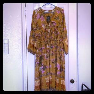 NWT leightweight boho dress